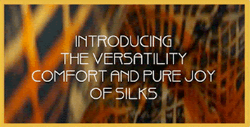 Introducing the versatility, comfort and pure joy of Madona Cole Originals silks and natural fabrics